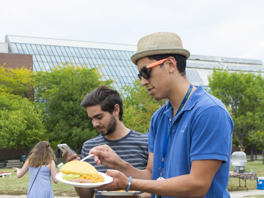 Students gathered at the University Green on Sept. 18 for Fiesta on the Green, hosted by the Latino Student Union.