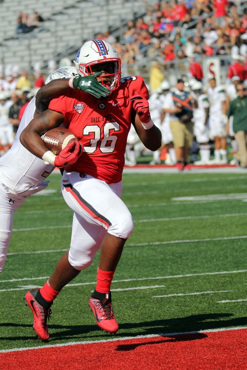 3-back attack leads Ball State offense