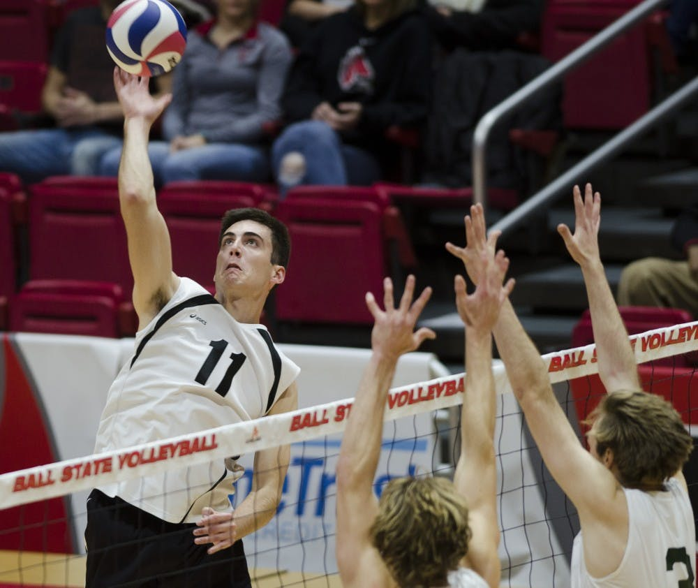 PREVIEW: No. 12 Ball State men's volleyball hosts No. 1 Ohio State