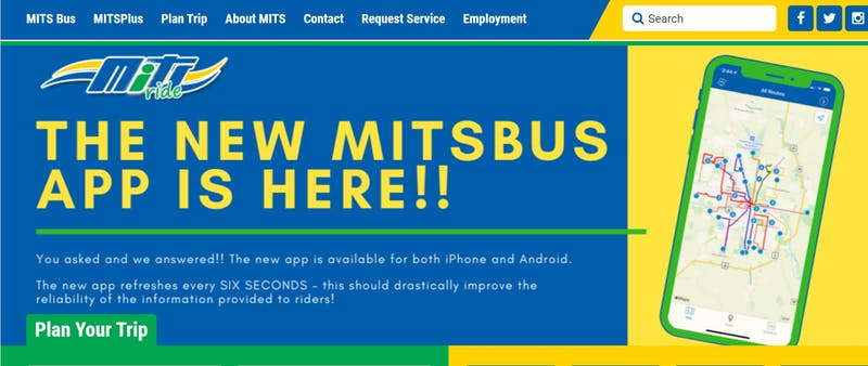 New MITS app makes it easier to ride