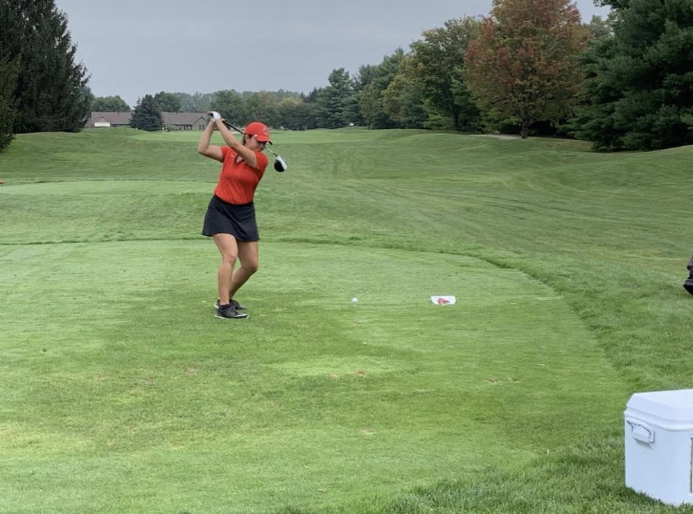 Ball State's Women's Golf team had a victory this past weekend after a 19 month dry spell.
