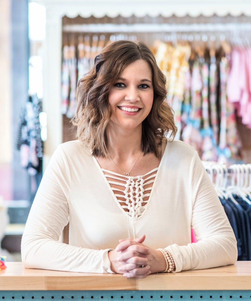 "<p>Forever Young Children's Boutique owner Amanda Hughes said her kids gave her a vision for the store. ""I never imagined what my business would be until I had children myself and decided that my hometown needed a boutique for kiddos,"" Hughes said. <strong>Amanda Hughes, Photo Provided</strong></p>"