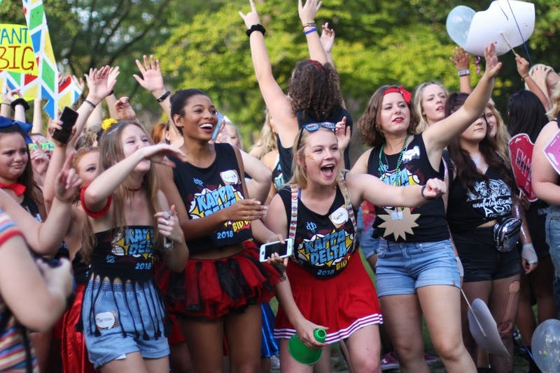 VIDEO: Bid Day 2018