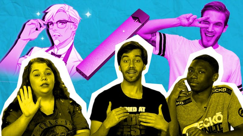 Juul Pods Dangerous, KFC's Hunky Dating Sim, Pewdiepie Controversy