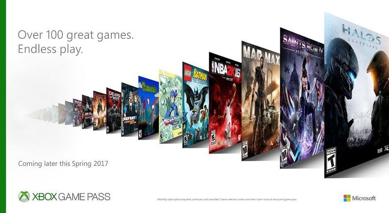 Xbox introduces new Game Pass subscription service