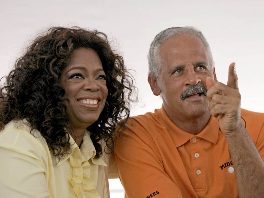 """Stedman Graham graduated from Ball State with a master's degree in education. He shares a """"spiritual union"""" with Oprah Winfrey. TNS Photo"""