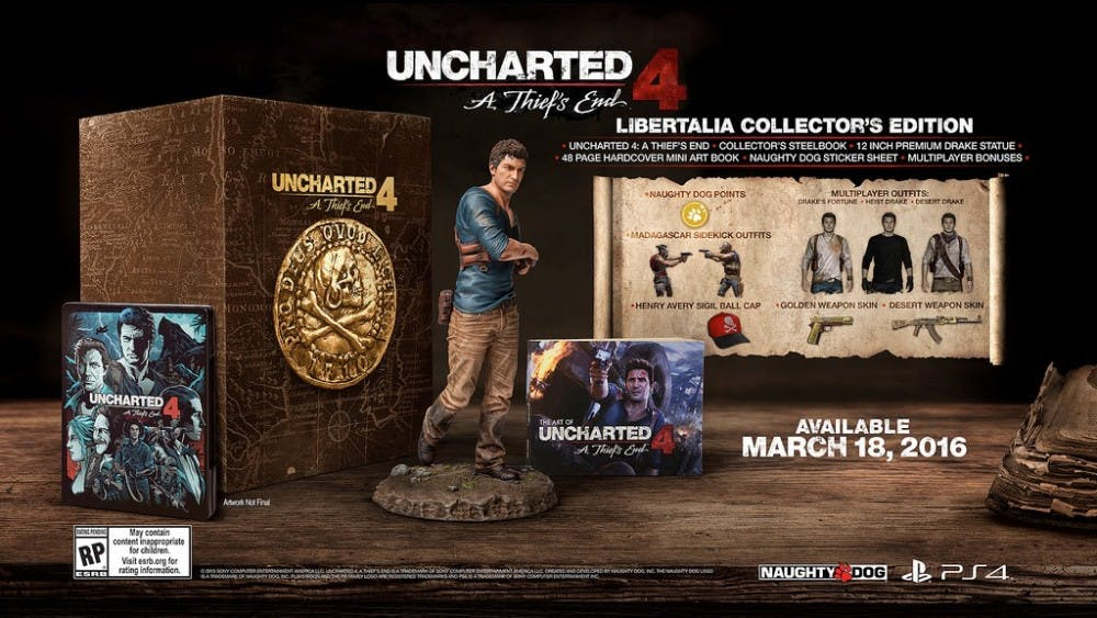 <p><em>Uncharted 4: A Thief's Friend </em>will be released on March 18, 2016. The PlayStation blog has announced a slew of bonus content in reward for pre-ordering.</p>
