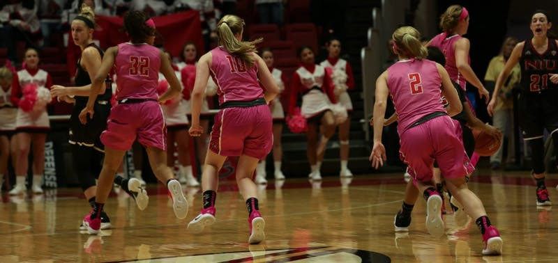 Ball State Womans Basketball plays Northern Illinois