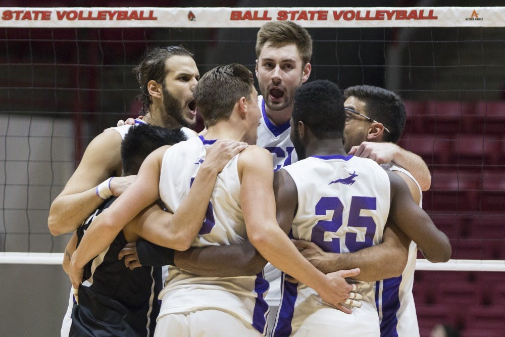 RECAP: No. 11 Ball State men's volleyball vs. Grand Canyon