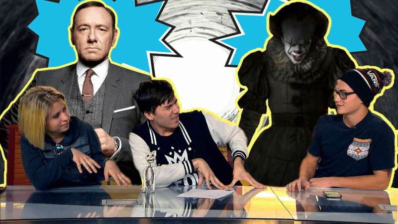 Pop Tabs S1E5: Horror Movies Good Again, the Fall of Kevin Spacey, and YouTube Adpocalypse
