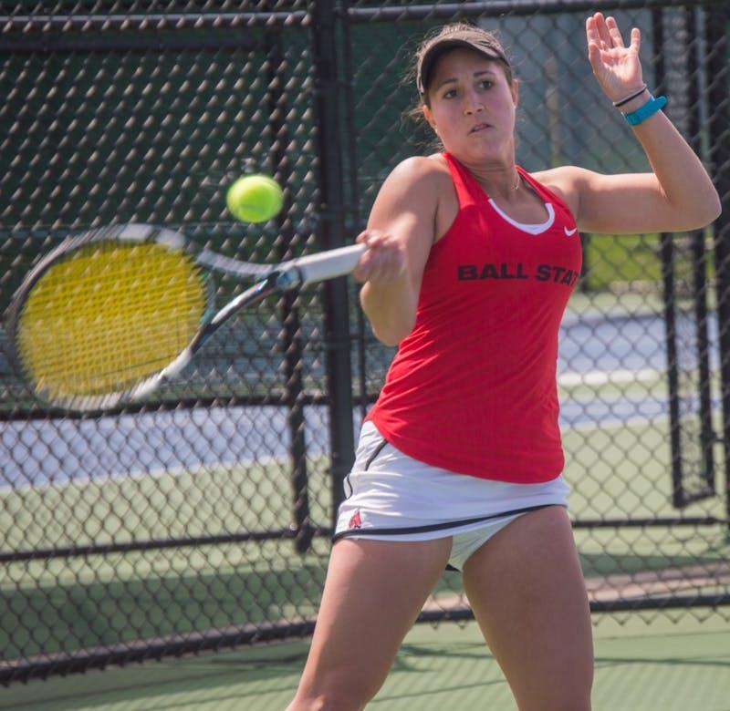 Carmen Blanco, Peyton Gollhofer make 2017 women's tennis All-MAC teams