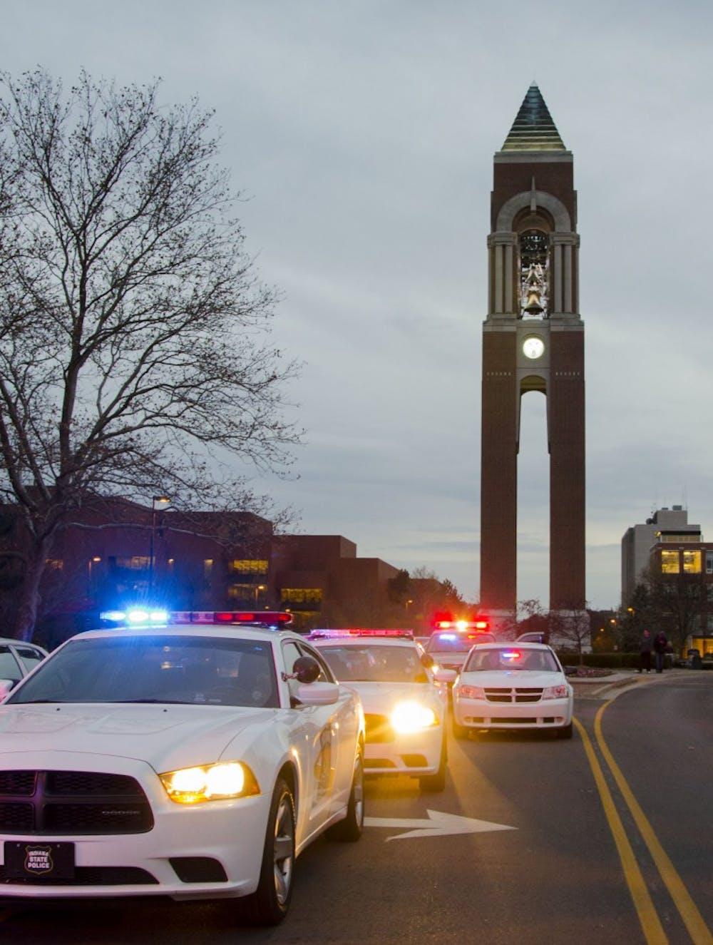 University police make 5 arrests over Super Bowl weekend