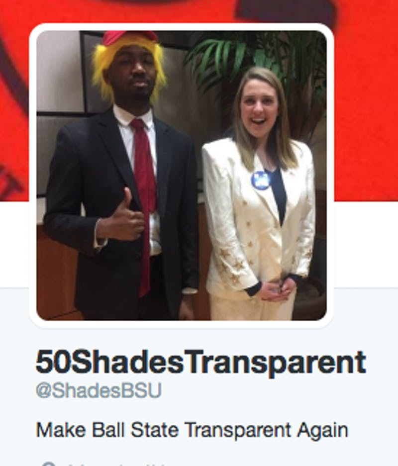 Traditional parody accounts on Twitter are accompanying the 2017-18 SGA elections. The parody accounts have been used as a platform to spread both humor about and awareness of the elections. ShadesBSU // Photo Courtesy