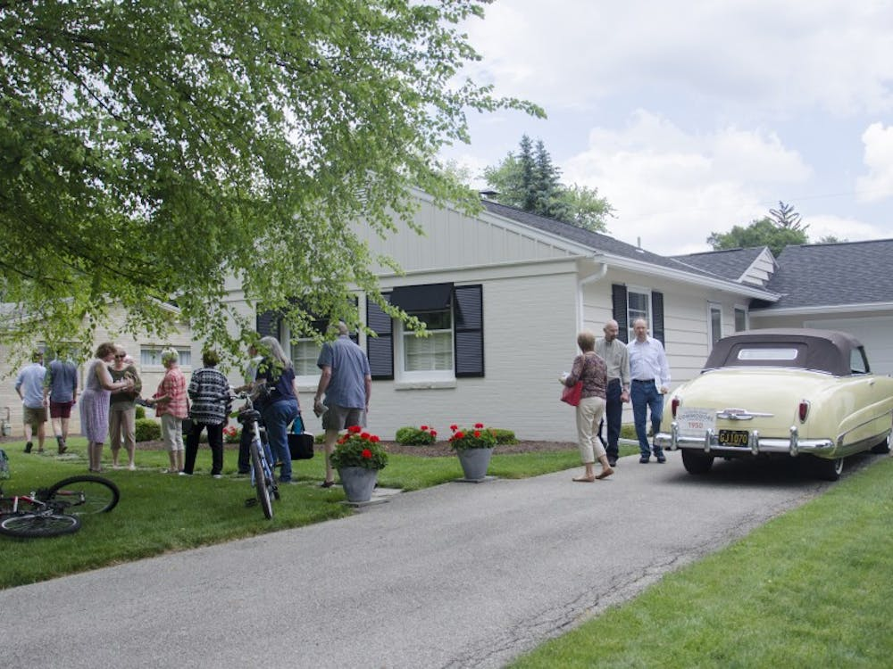 Indiana Modern presented the Mid-Century Modern Home Tour showcasing five homes in Muncie on May 30. This was the first year the home tour took place in Muncie.