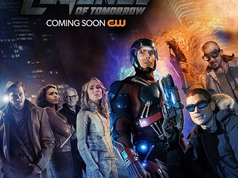 """Legends of Tomorrow"" is a new show on The CW that focuses on a time-traveling team. The show airs on Thursdays at 9 p.m. PHOTO COURTESY OF BRENTAC.COM"