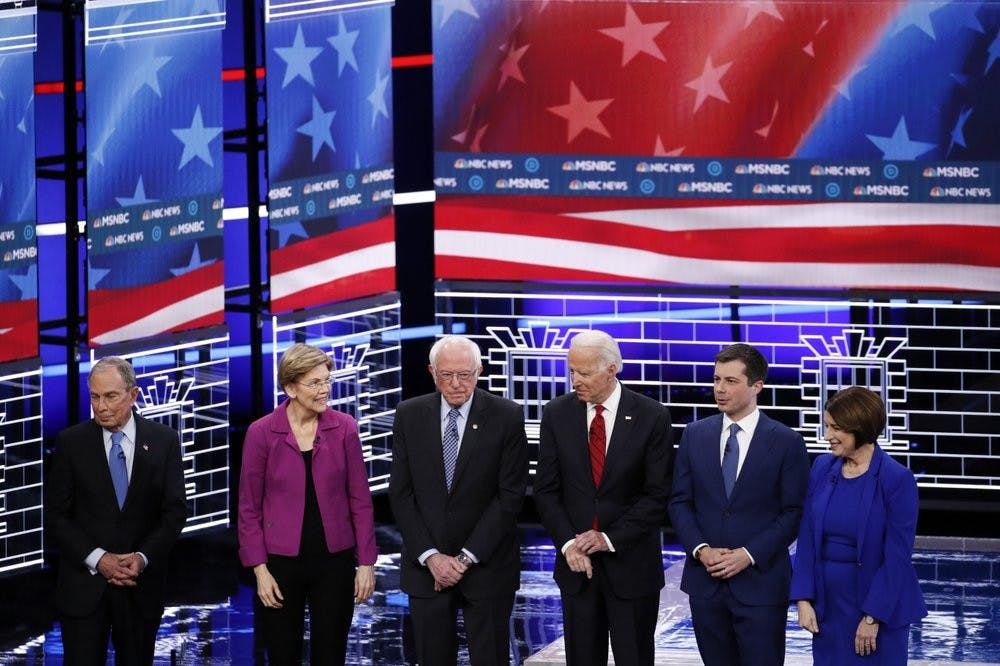 Debate night brawl: Bloomberg, Sanders attacked by rivals