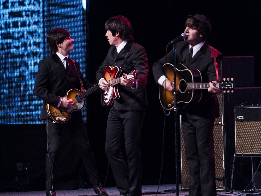 Rain visited to pay tribute to the Beatles with their musical performance.