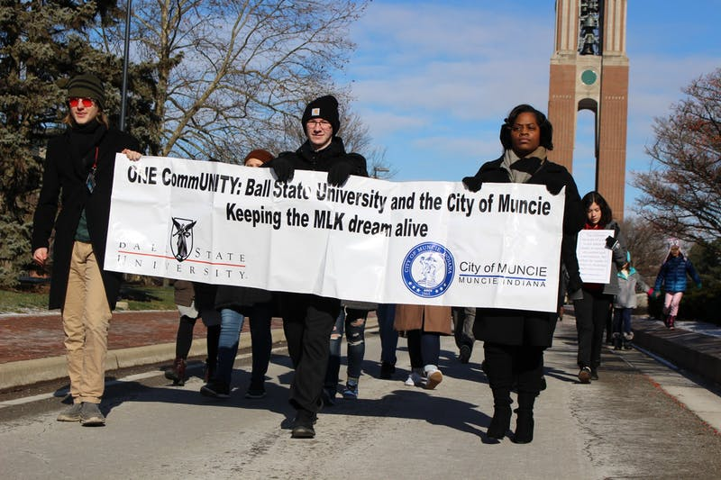 Ball State Unity Week 2020 March and Community Breakfast
