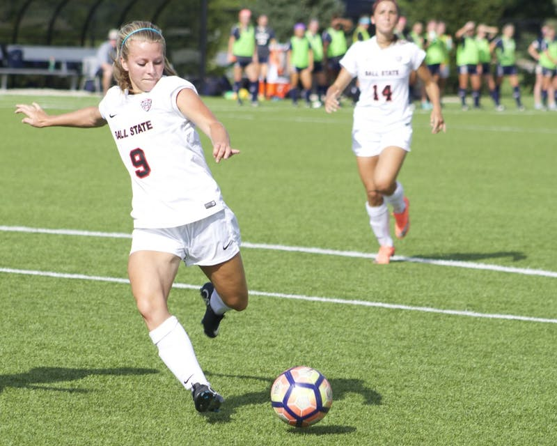 First place Ball State soccer travels to second place Kent State in battle of unbeatens