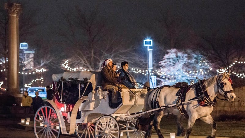 Experience the magic of Winter at Minnetrista!