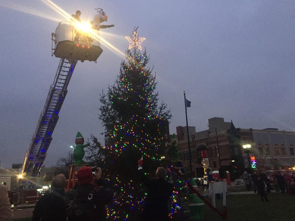 Muncie's annual Light Up DWNTWN will be a part of the city's First Thursday art gallery opening on Dec. 1. The event will expand the regular art gallery shows to restaurants and stores to promote holiday shopping. Casey Smith // DN File