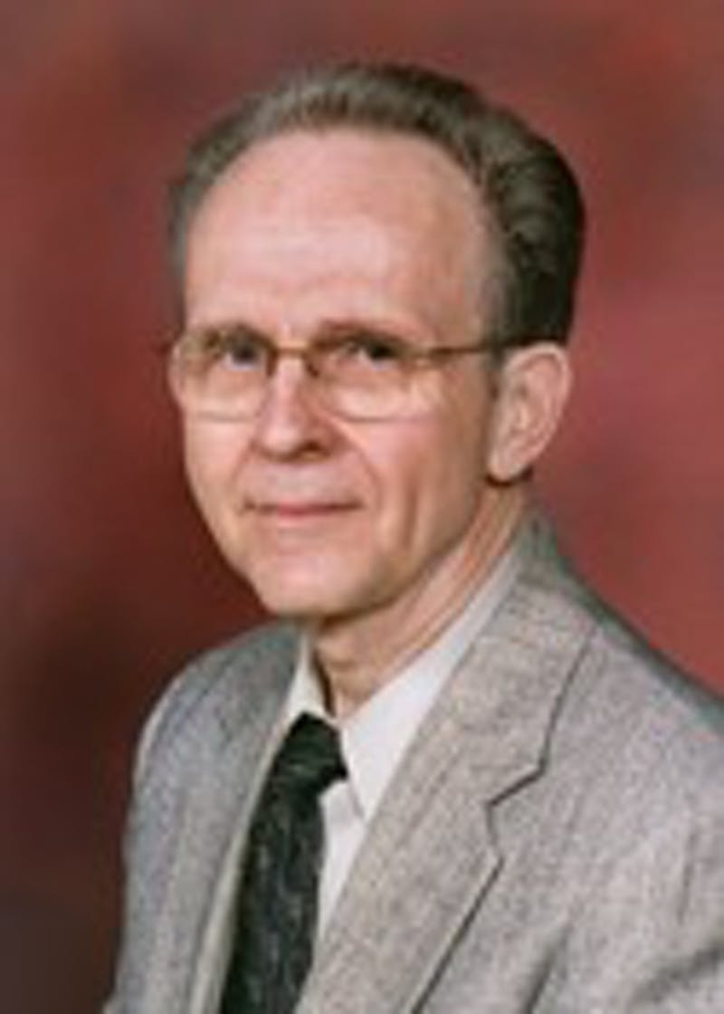 David Ober worked in the Department of Physics and Astronomy for 39 years, spending 16 of those years as the department chairperson. Photo provided