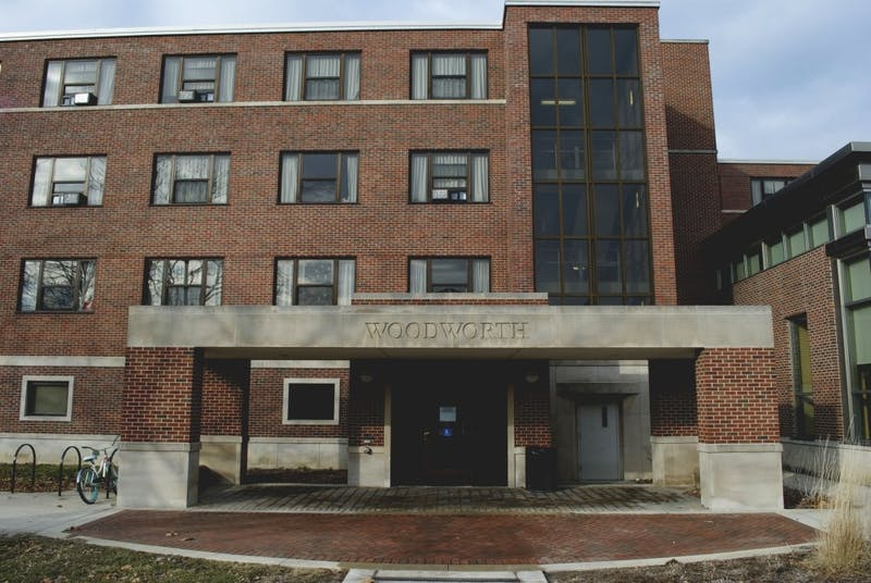 Woodworth will turn sorority suits into rooms for residents for the fall of 2019. Seven of the sororities will have to move out of the suits they currently use for meetings. Samantha Brammer, DN File