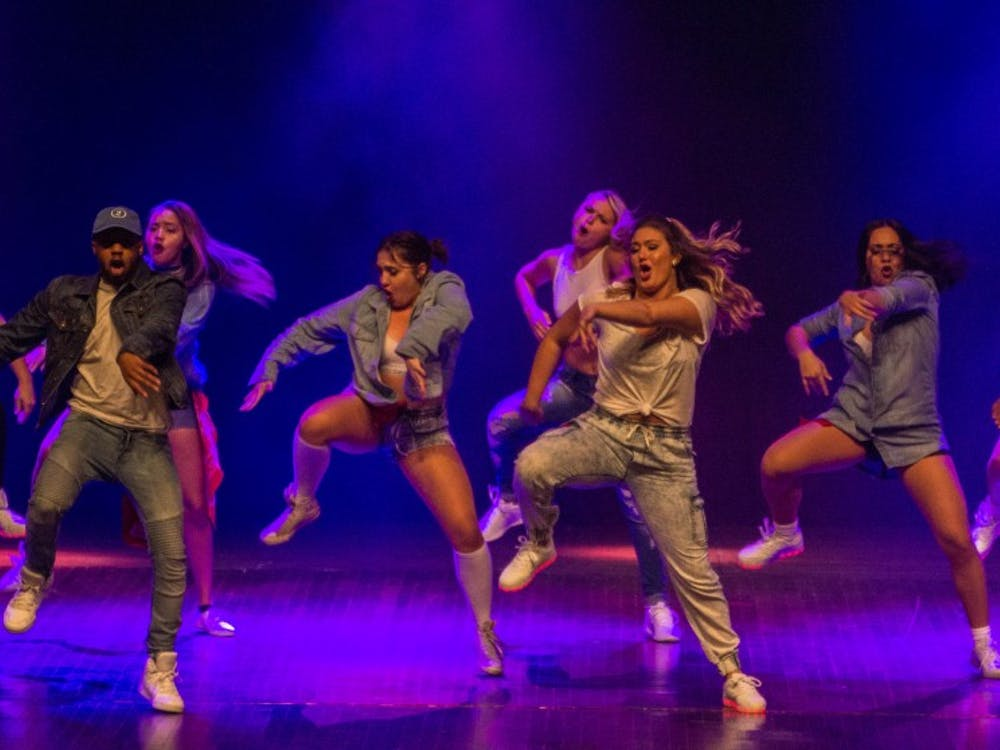 Members of Ball State's Outlet performed in the first show of Air Jam on Oct. 20 at 7 p.m. Outlet was the independent winner and overall winner of the first show. Grace Ramey // DN