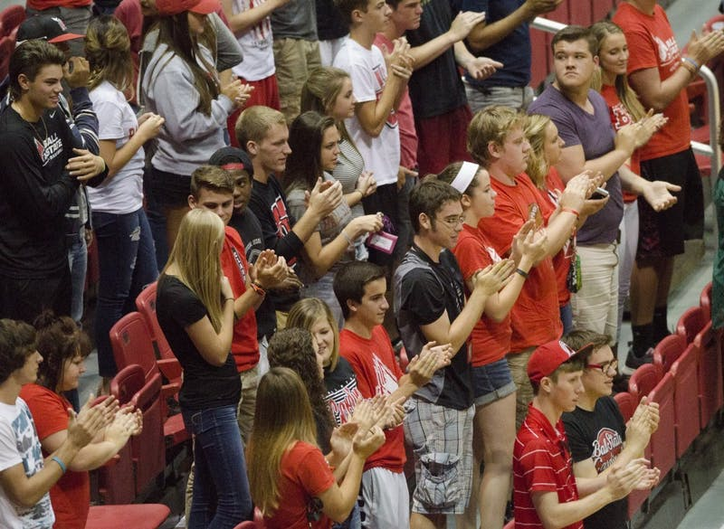 Ball State women's volleyball dominates at home