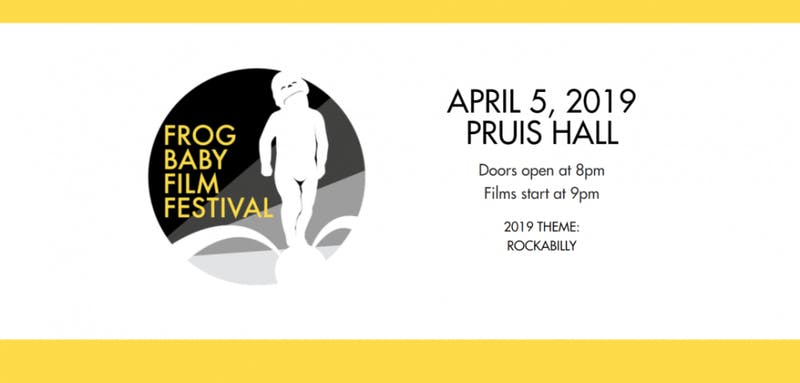 Doors open tonight at 8 in Pruis Hall for Frog Baby Film Festival