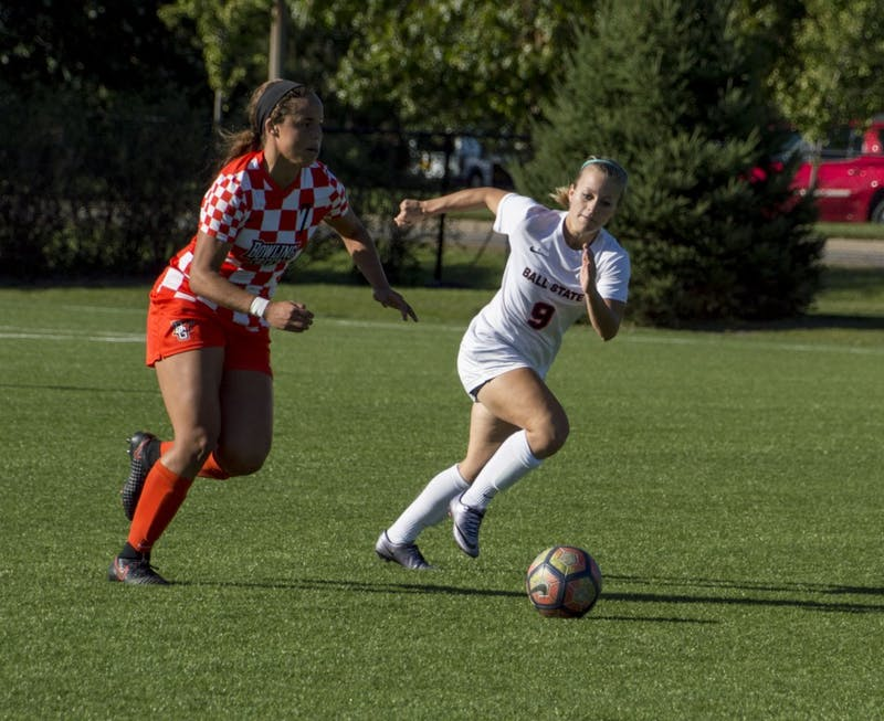 Ball State soccer extends unbeaten streak to nine games