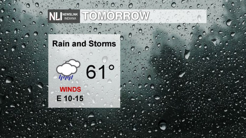 Rainy saturday with drier conditions to follow
