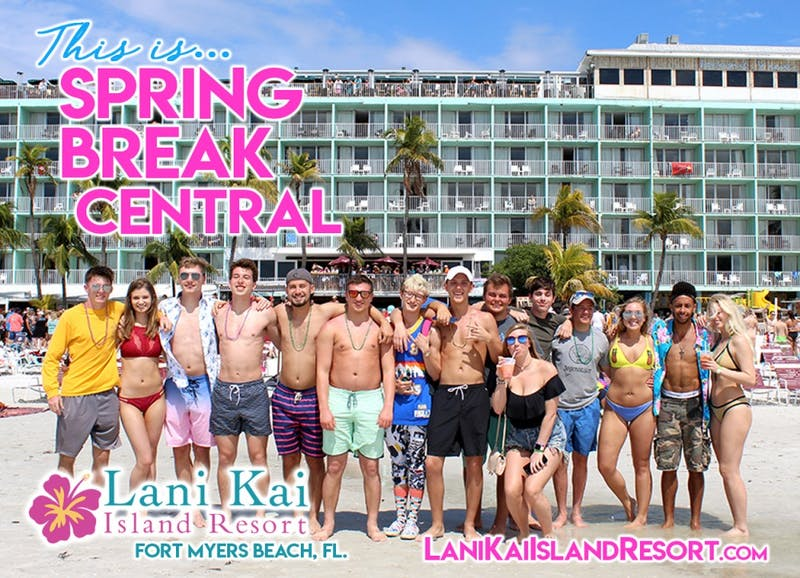 "Lani Kai Island Resort is ""Spring Break Central"" of the Southeast U.S."
