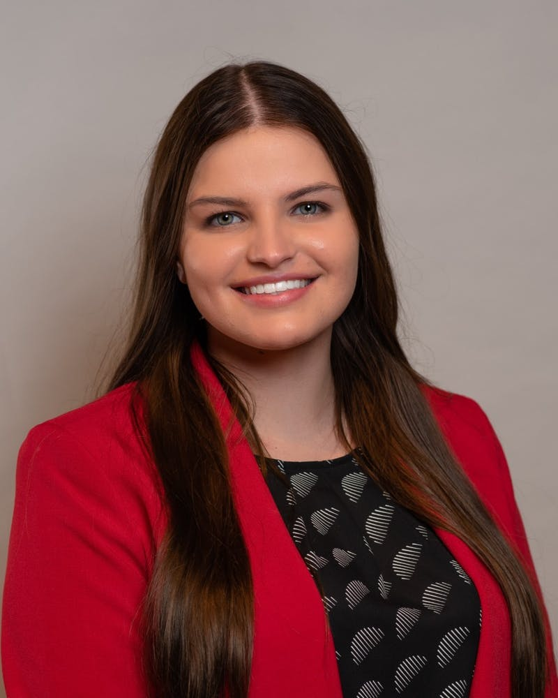 Amy Wyse, junior international business, economics and Spanish triple major, was announced as Ball State's new student trustee in June. She will serve in her position through June 30, 2023. Amy Wyse, Photo Provided