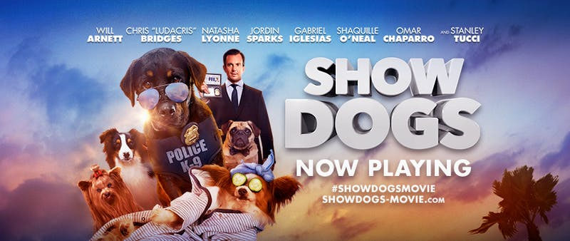 """Show Dogs"" is a new pedigree of lame animal comedy"