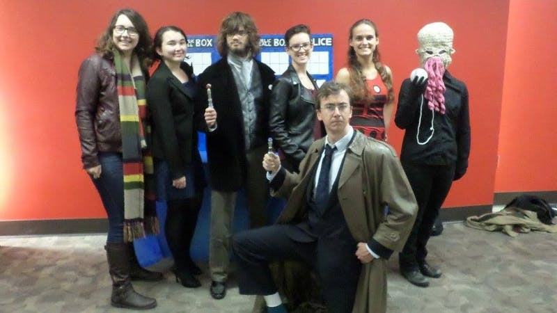 Students connect over shared love for 'Doctor Who'