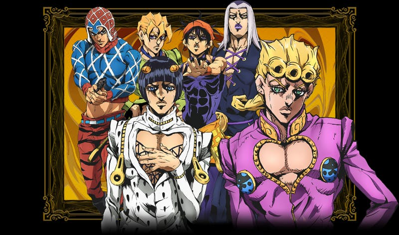 Review Jojos Bizarre Adventure Vento Aureo Episode 1 Gold