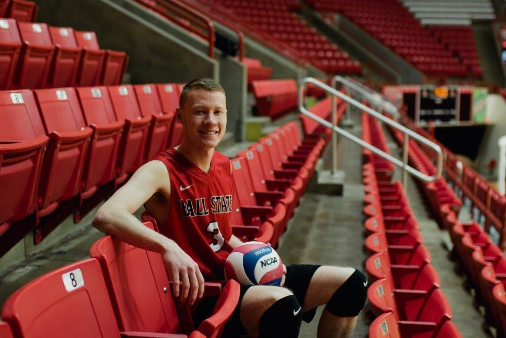 <p>Ben Chinnici - Mens Volleyball. <strong>Reagan Allen, DN</strong></p>