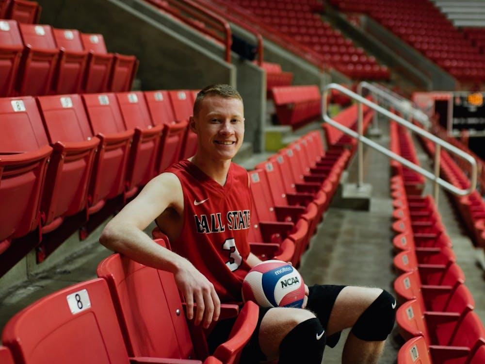 Ben Chinnici - Mens Volleyball. Reagan Allen, DN