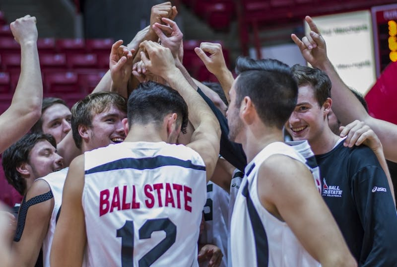 RECAP: Ball State men's volleyball vs. Penn State