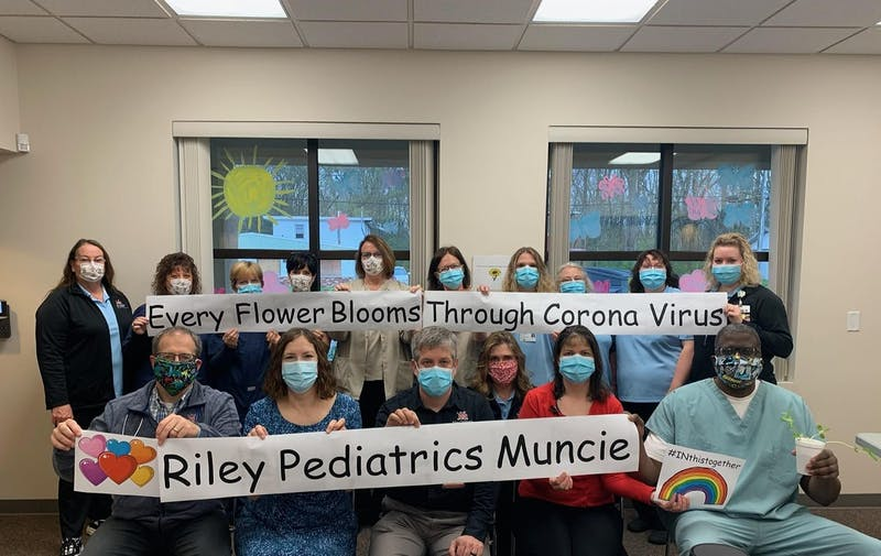 Riley Pediatric Physicians transitioning to virtual appointments