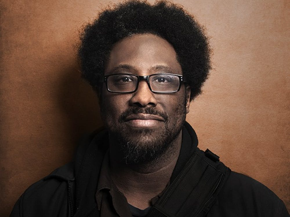 """W. Kamau Bellwill be coming to campus to talk about the impact of race in American culture. Bell is a critically acclaimed socio-political comedian and host of the Emmy Award-nominated series """"United Shades of America on CNN""""."""