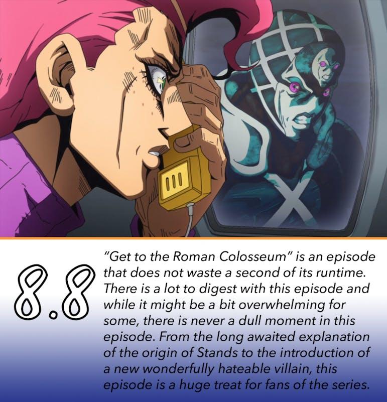 REVIEW: 'Jojo's Bizarre Adventure: Vento Aureo' Episode 29