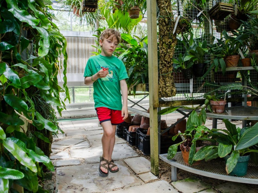 The Rinard Orchid Greenhouse host the annual Tropical Creatures event Saturday, May 12, for family and children to learn about certain mammals, insects and plants. Stephanie Amador, DN