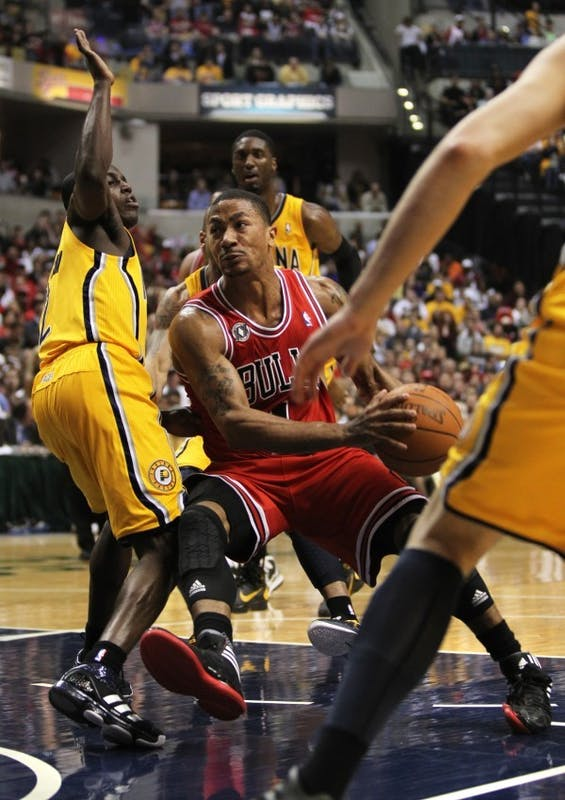 Pacers look to extend series about Bulls, injured Rose