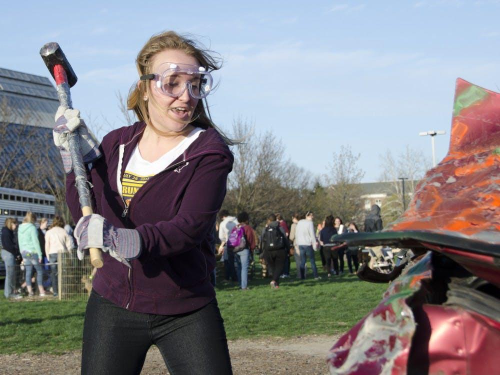The University Program Board hosted the Smash Bash on April 22 on the University Green.