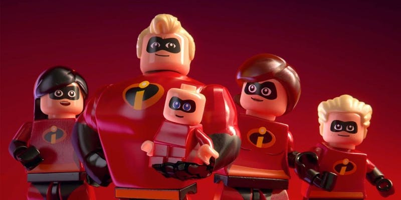 'Lego The Incredibles' is simply below Parr