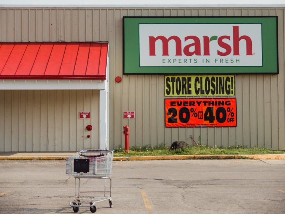 Marsh stores in Indiana and Western Ohio announced that all 44 of its remaining stores could be closed downin the next 60 days or earlier if the company is unsuccessful in its efforts to find a buyer or business partner. Reagan Allen // DN