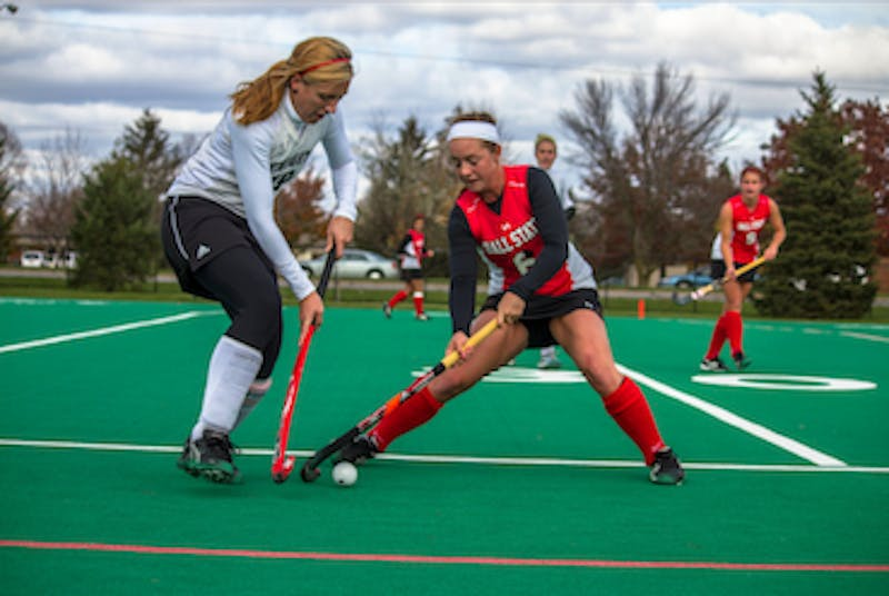 FIELD HOCKEY: Ball State freshman scores two goals on Senior Day