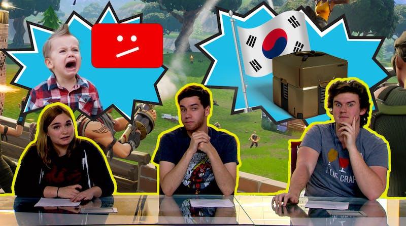 Fortnite Ending Social Lives, South Korea and Lootboxes, YouTube Kids | Pop Tabs